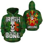 Rainey Family Crest Ireland National Tartan Irish To The Bone Hoodie