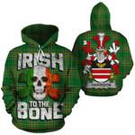 Harrison Family Crest Ireland National Tartan Irish To The Bone Hoodie