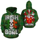 Dick Family Crest Ireland National Tartan Irish To The Bone Hoodie