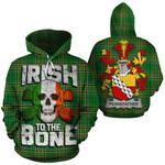 Pennefather Family Crest Ireland National Tartan Irish To The Bone Hoodie