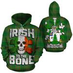McAlpine Family Crest Ireland National Tartan Irish To The Bone Hoodie
