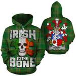 Henry Family Crest Ireland National Tartan Irish To The Bone Hoodie