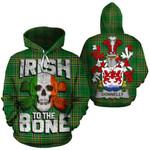 Donnelly Family Crest Ireland National Tartan Irish To The Bone Hoodie