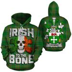 Crombie Family Crest Ireland National Tartan Irish To The Bone Hoodie