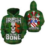 Widenham Family Crest Ireland National Tartan Irish To The Bone Hoodie