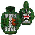 Tierney Family Crest Ireland National Tartan Irish To The Bone Hoodie