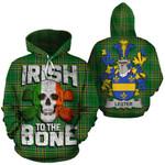 Lester Family Crest Ireland National Tartan Irish To The Bone Hoodie