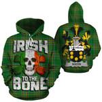 Nixon Family Crest Ireland National Tartan Irish To The Bone Hoodie