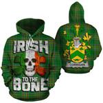 Corrigan Family Crest Ireland National Tartan Irish To The Bone Hoodie