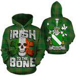 Mallin Family Crest Ireland National Tartan Irish To The Bone Hoodie