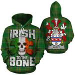 Scott Family Crest Ireland National Tartan Irish To The Bone Hoodie