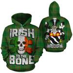 Clements Family Crest Ireland National Tartan Irish To The Bone Hoodie
