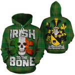 McGeough Family Crest Ireland National Tartan Irish To The Bone Hoodie