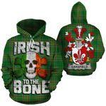 Sarsfield Family Crest Ireland National Tartan Irish To The Bone Hoodie