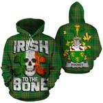 Rooney Family Crest Ireland National Tartan Irish To The Bone Hoodie