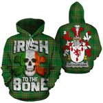 Geoghegan Family Crest Ireland National Tartan Irish To The Bone Hoodie