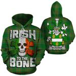 McKenna Family Crest Ireland National Tartan Irish To The Bone Hoodie