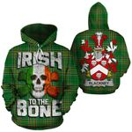 Blackney Family Crest Ireland National Tartan Irish To The Bone Hoodie