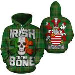 Caulfield Family Crest Ireland National Tartan Irish To The Bone Hoodie
