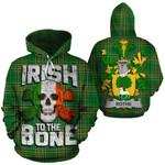 Rothe Family Crest Ireland National Tartan Irish To The Bone Hoodie