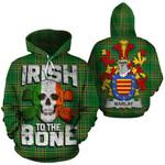 Marlay Family Crest Ireland National Tartan Irish To The Bone Hoodie