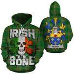 Terry Family Crest Ireland National Tartan Irish To The Bone Hoodie