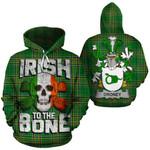 Droney Family Crest Ireland National Tartan Irish To The Bone Hoodie