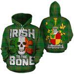 Packenham Family Crest Ireland National Tartan Irish To The Bone Hoodie