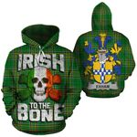Exham Family Crest Ireland National Tartan Irish To The Bone Hoodie