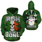 McAlindon Family Crest Ireland National Tartan Irish To The Bone Hoodie