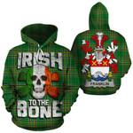 Franklin Family Crest Ireland National Tartan Irish To The Bone Hoodie