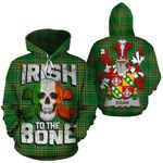 Egan Family Crest Ireland National Tartan Irish To The Bone Hoodie