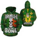Sheridan Family Crest Ireland National Tartan Irish To The Bone Hoodie
