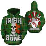 Prior Family Crest Ireland National Tartan Irish To The Bone Hoodie