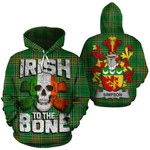 Simpson Family Crest Ireland National Tartan Irish To The Bone Hoodie