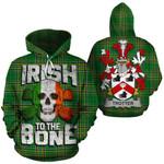 Trotter Family Crest Ireland National Tartan Irish To The Bone Hoodie