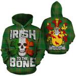Gormley Family Crest Ireland National Tartan Irish To The Bone Hoodie