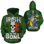 Kenney Family Crest Ireland National Tartan Irish To The Bone Hoodie