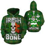 McCabe Family Crest Ireland National Tartan Irish To The Bone Hoodie
