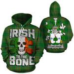 Concanon Family Crest Ireland National Tartan Irish To The Bone Hoodie