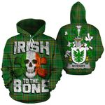 McEniry Family Crest Ireland National Tartan Irish To The Bone Hoodie
