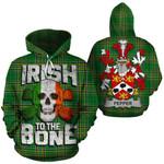 Pepper Family Crest Ireland National Tartan Irish To The Bone Hoodie