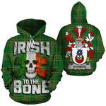 Harmon Family Crest Ireland National Tartan Irish To The Bone Hoodie