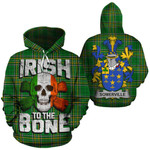 Somerville Family Crest Ireland National Tartan Irish To The Bone Hoodie