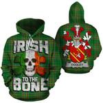 Dooley Family Crest Ireland National Tartan Irish To The Bone Hoodie