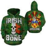 Kearney Family Crest Ireland National Tartan Irish To The Bone Hoodie