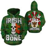Reidy Family Crest Ireland National Tartan Irish To The Bone Hoodie