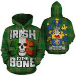 Brosnan Family Crest Ireland National Tartan Irish To The Bone Hoodie