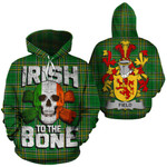 Field Family Crest Ireland National Tartan Irish To The Bone Hoodie