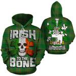 Callaghan Family Crest Ireland National Tartan Irish To The Bone Hoodie